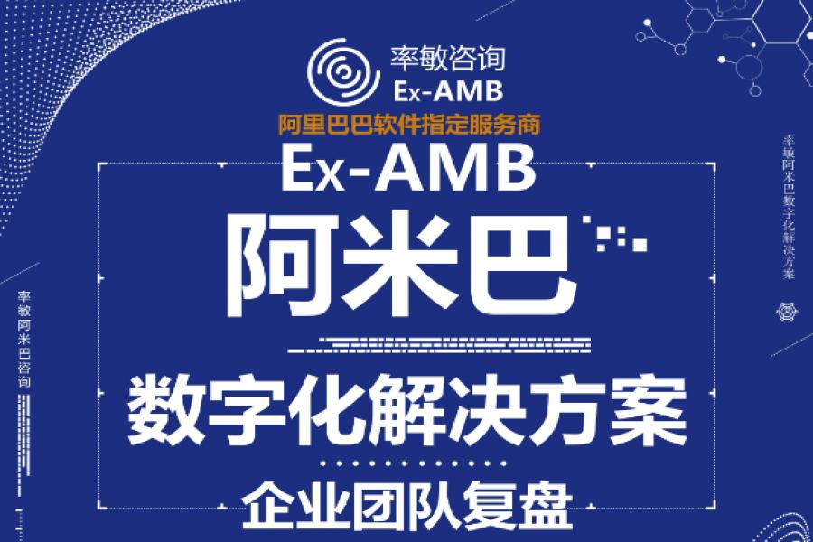 Ex-AMB阿里巴巴软件指定服务商