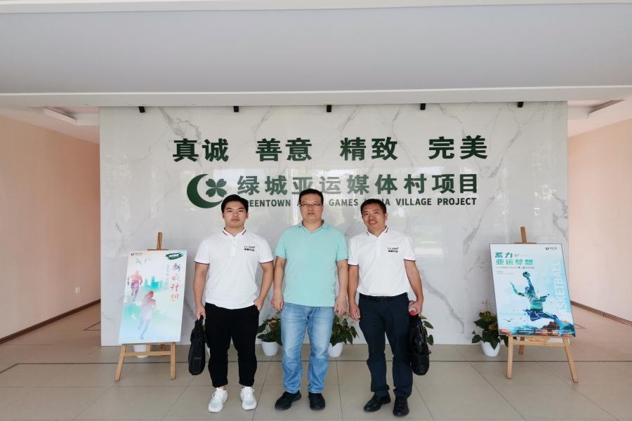 金秋9月,率敏顾问团队回访绿城杭州亚运媒体村项目部!